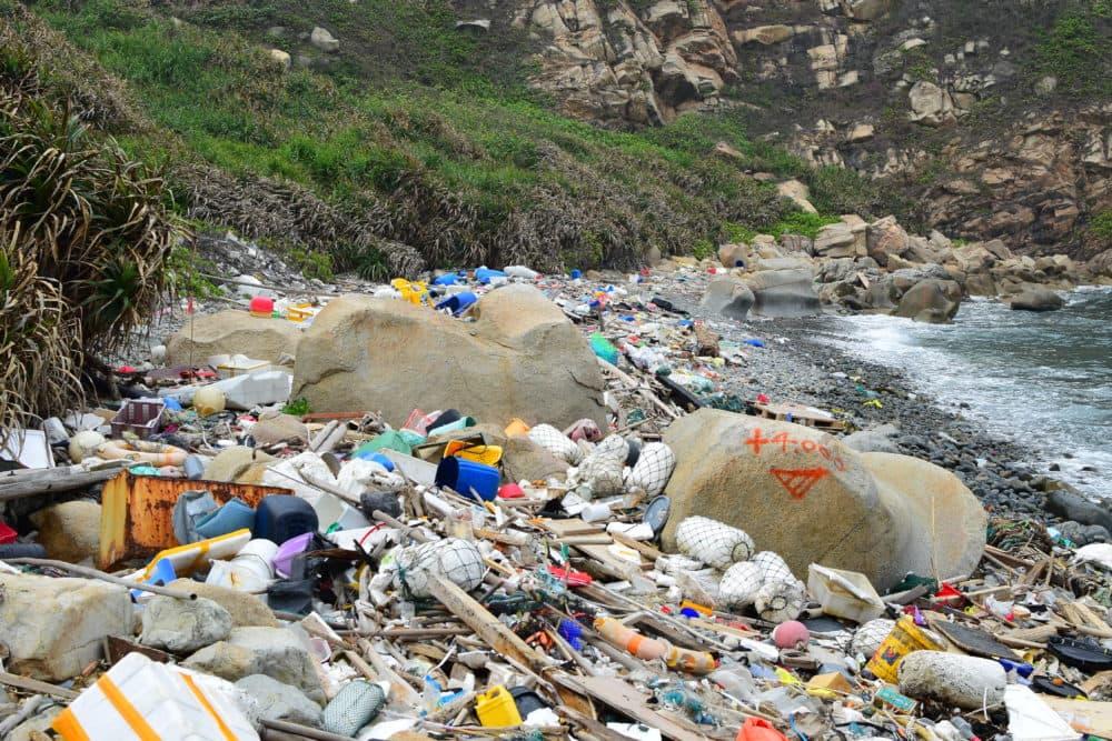 Plastic trash, Hong Kong, Courtesy Nick Mallos, Ocean Conservancy