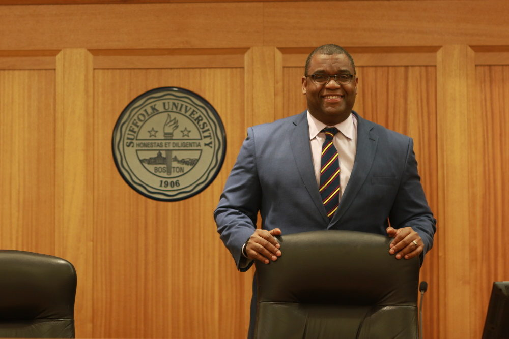 Serge Georges Jr. was nominated by Gov. Baker's to the Supreme Judicial Court on Tuesday, Nov. 17. (SHNS)