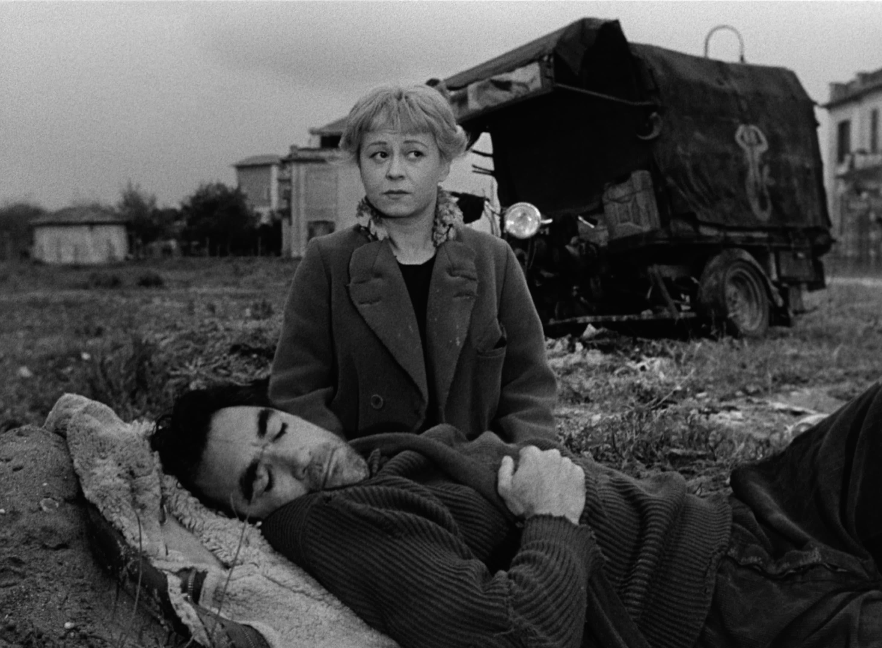 "A still from Federico Fellini's ""La Strada."" (Courtesy Janus Films)"