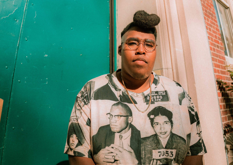 Boston-based rapper Billy Dean Thomas. (Courtesy Marika Belamarich)