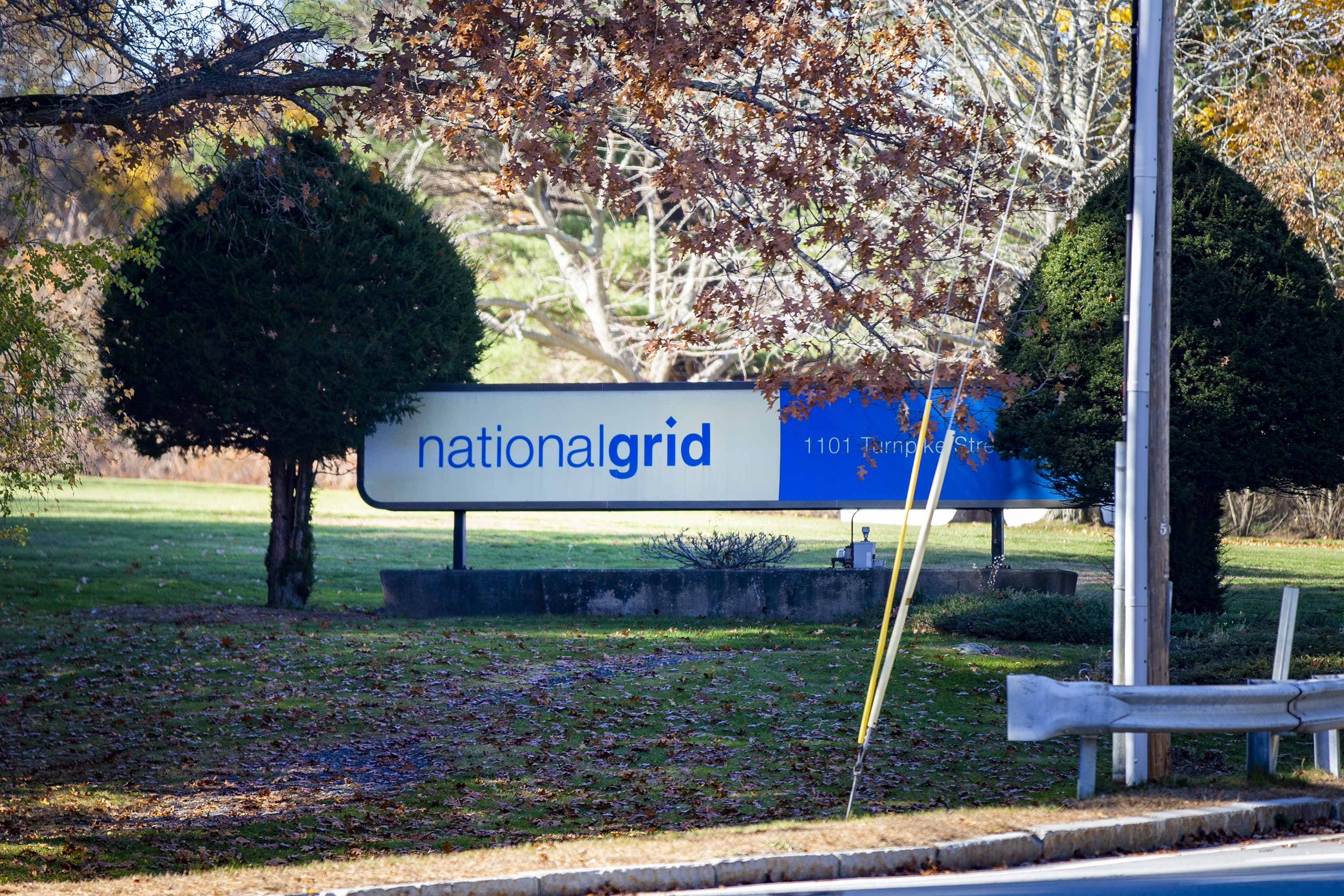 An audit of National Grid is being conducted by two former employees of the utility giant, an arrangement the attorney general said was a conflict of interest. (Jesse Costa/WBUR)
