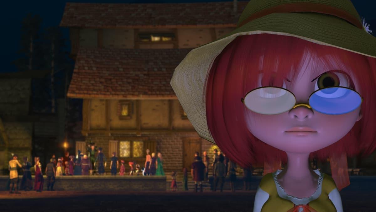 """A still from the animated short film """"Daisy."""" (Courtesy Tom Weston)"""