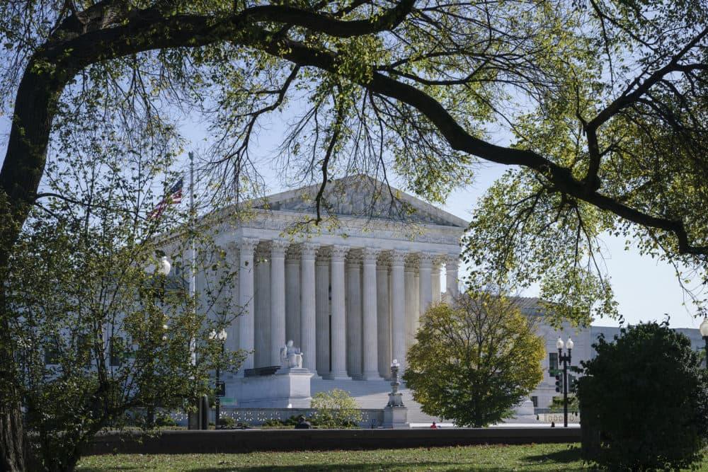The Supreme Court is seen on Election Day, Tuesday, Nov. 3, 2020, in Washington. (J. Scott Applewhite/AP)