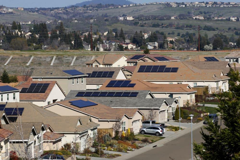 A housing development stands in El Dorado Hills, Calif. (Rich Pedroncelli/AP)
