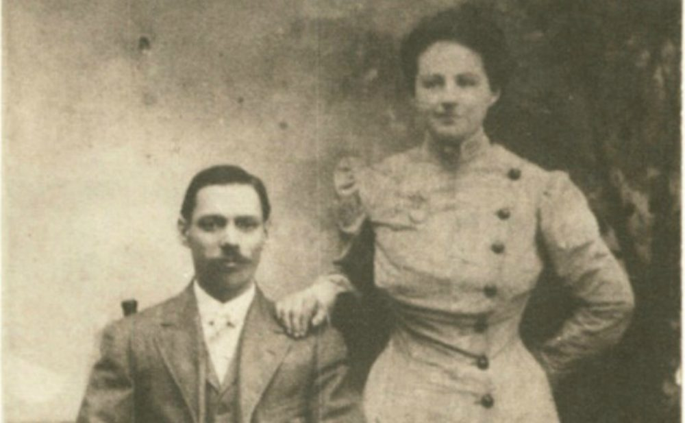 The author's grandparents, Emmanuel and Stella, in a photo taken between 1910 and 1917. (Courtesy)
