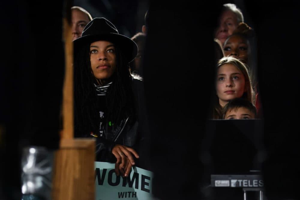Attendees wait to see Sen. Elizabeth Warren (D-MA) at a campaign event at Clark Atlanta University on November 21, 2019 in Atlanta, Georgia. (Elijah Nouvelage/Getty Images)