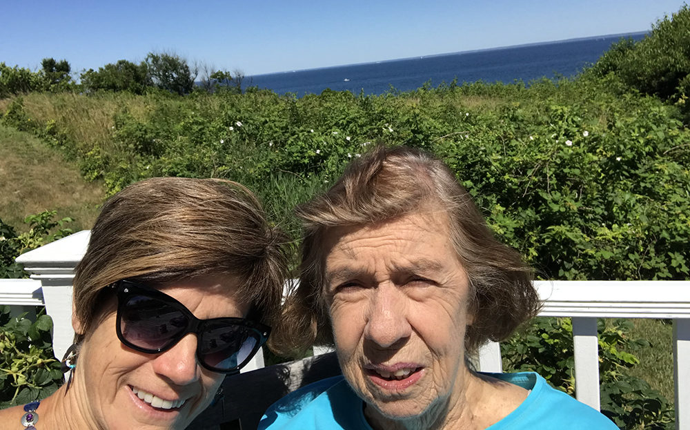 MJ Ryan and her mother, Theresa Ryan. (Courtesy)