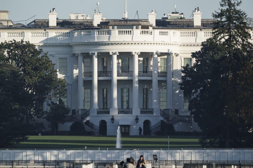 The White House in Washington is seen early Sunday, Nov. 8. (J. Scott Applewhite/AP)