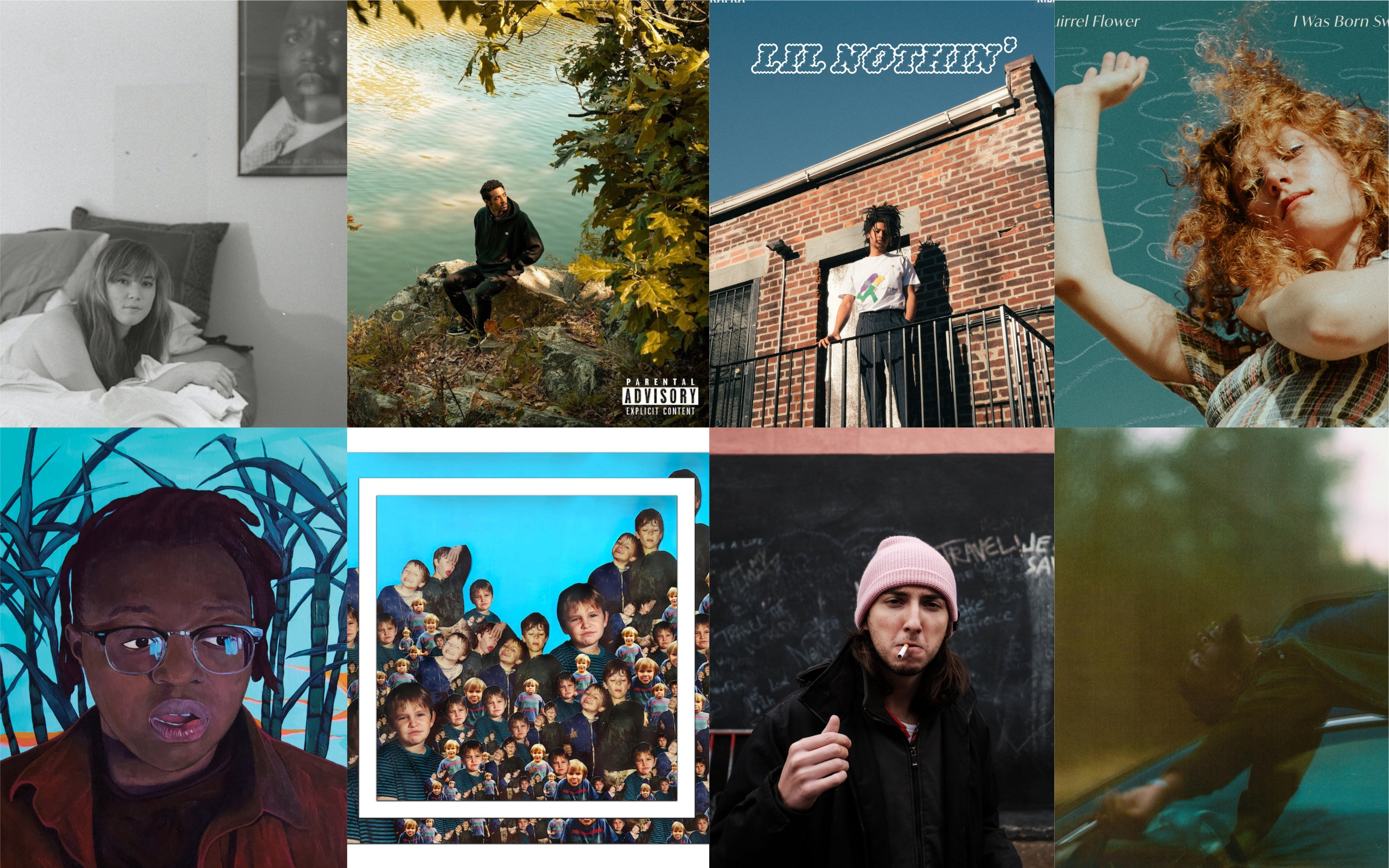 The best local albums of 2020. (Courtesy of the artists)