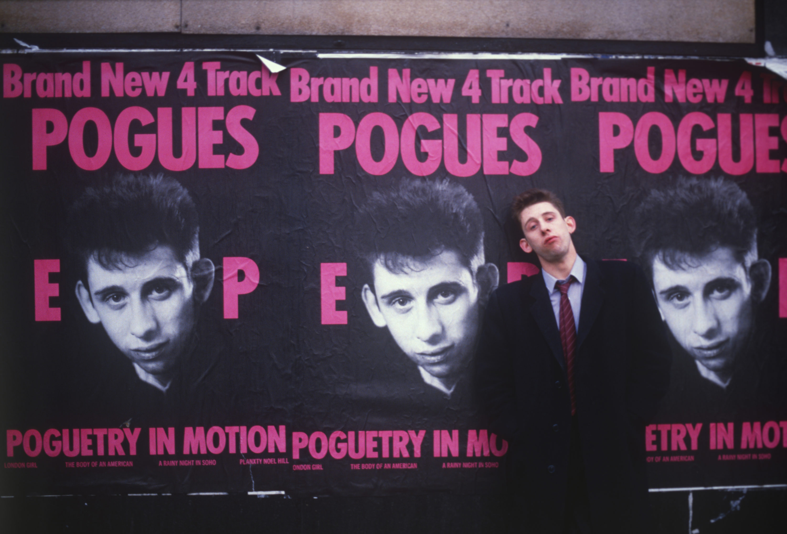 """Shane MacGowan in 1986, from """"Crock of Gold: A Few Rounds with Shane MacGowan."""" (Courtesy Magnolia Pictures)"""