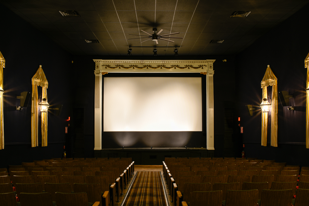 Inside The Capawock Theatre. (Courtesy Martha's Vineyard Film Society)