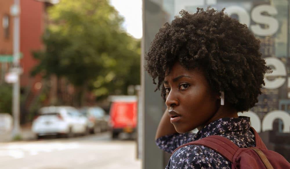 "Jayme Lawson in Ekwa Msangi's ""Farewell Amor.""  (Courtesy of IFC Films)"