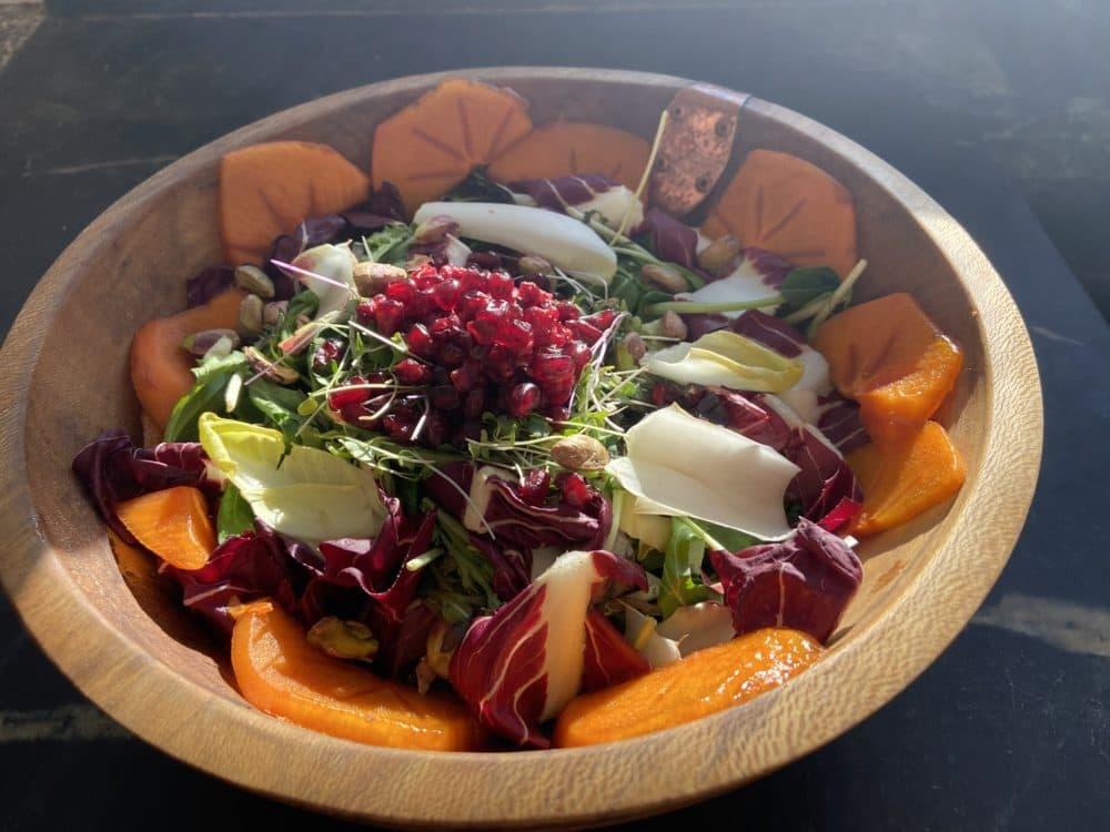 Salade de nouvel an de Kathy Gunst. (Kathy Gunst)