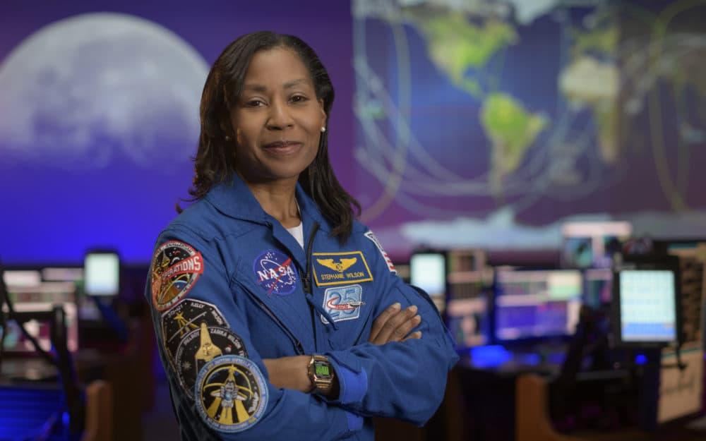 NASA astronaut Stephanie Wilson. (Courtesy NASA/Bill Ingalls)