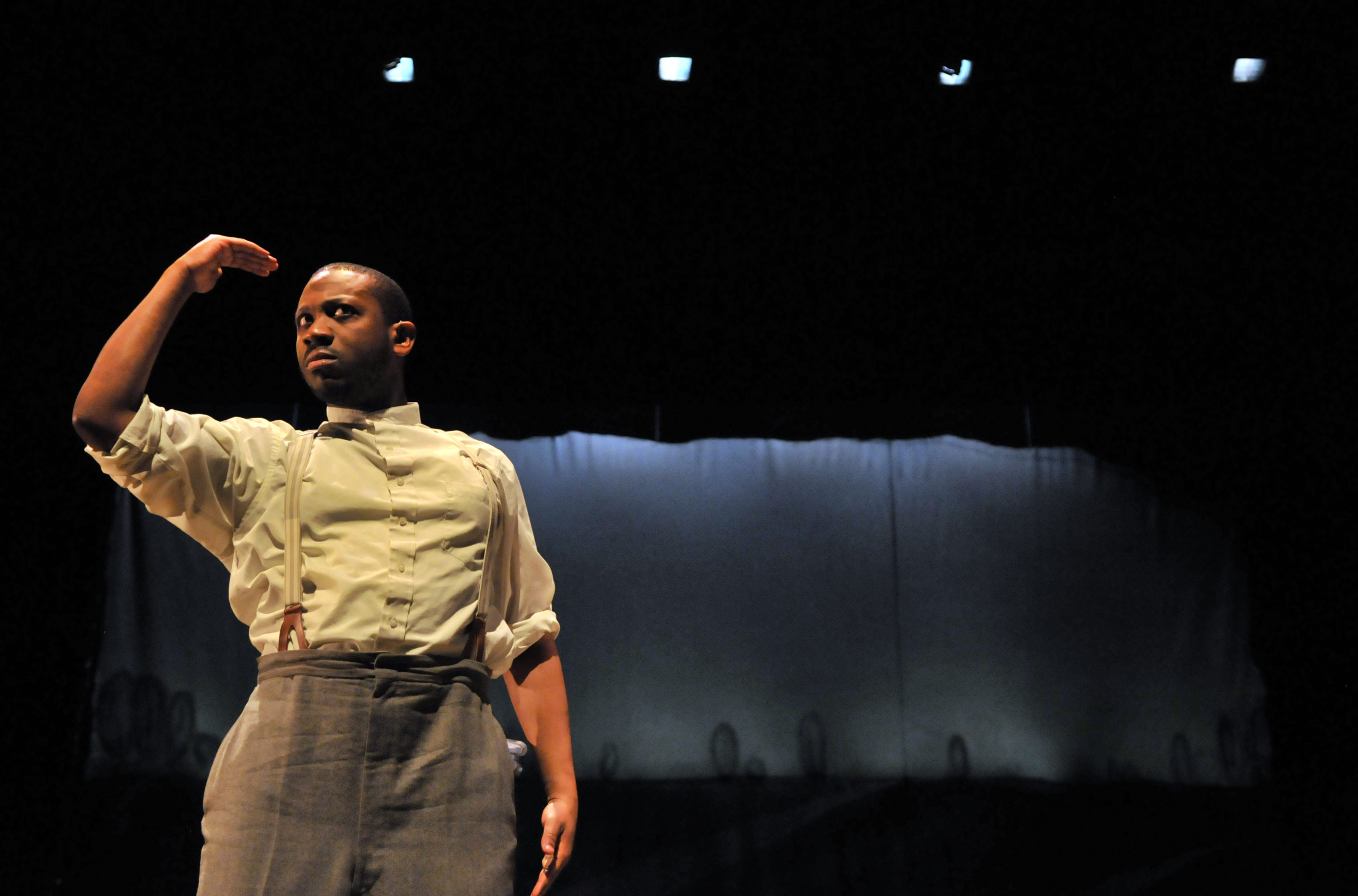 "Elbert ""EJ"" Joseph in Emerson Stage's production of ""Mother Hicks."" (Courtesy Craig Bailey/Perspective Photo)"