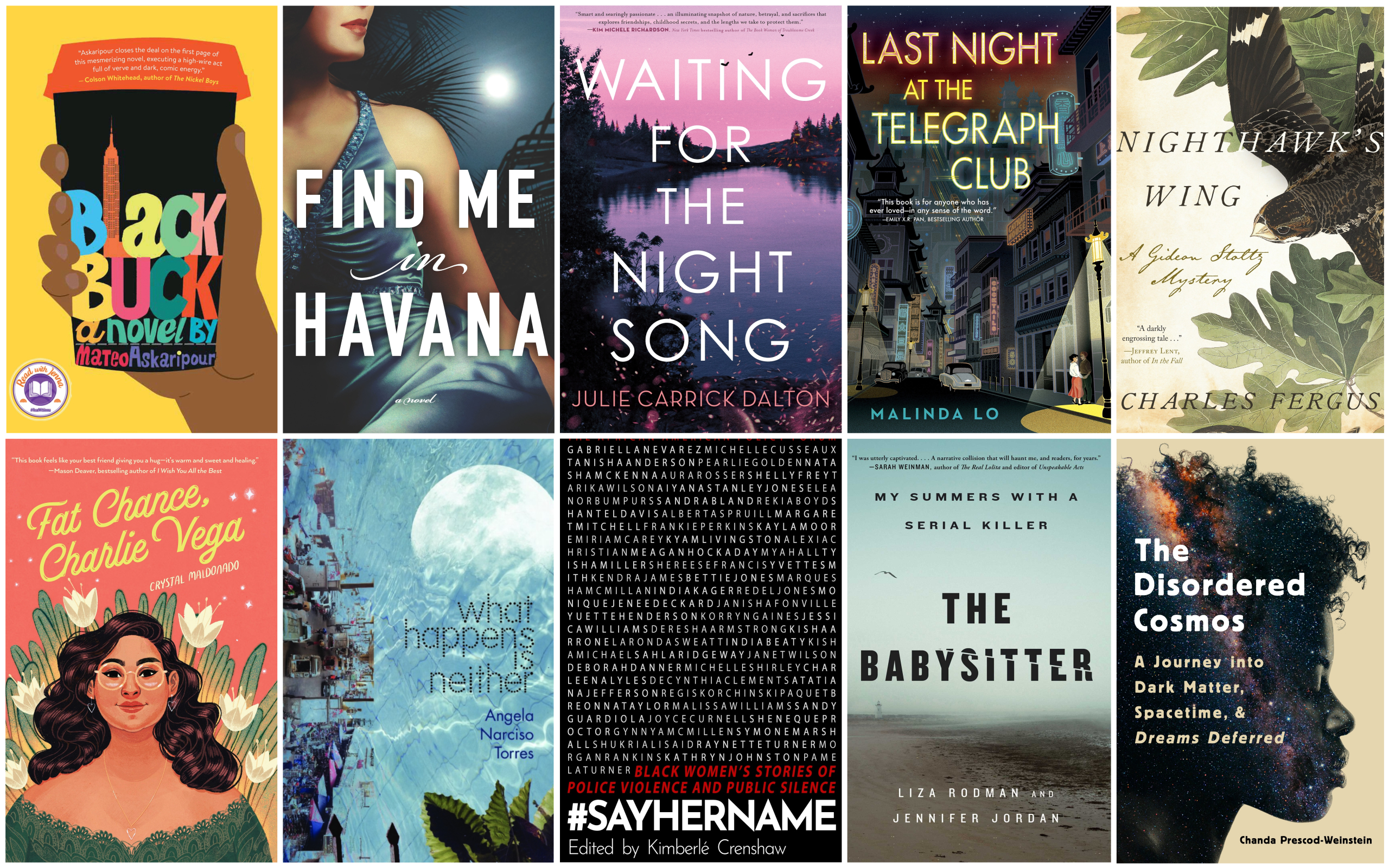 The ARTery literature writer Katherine Ouellette selects 10 books to read this winter. (Courtesy the publishers)
