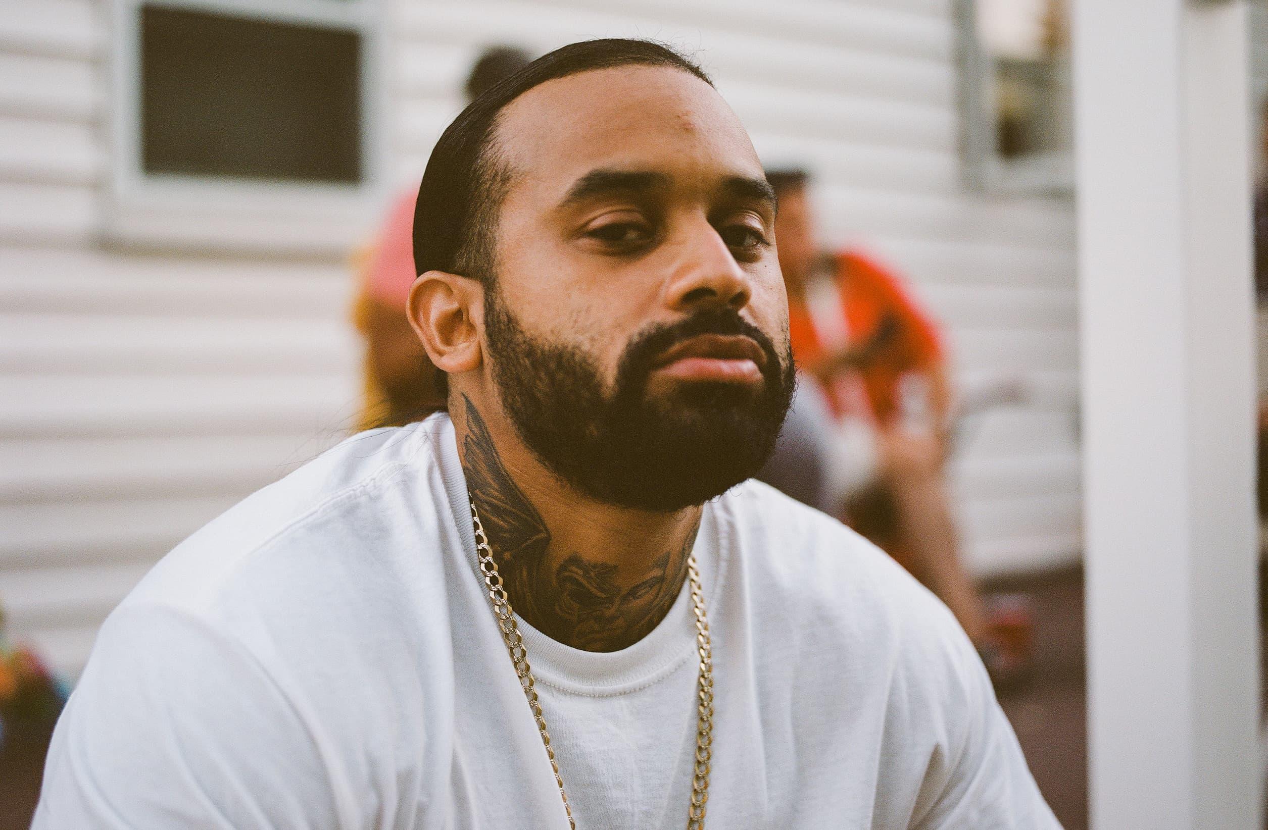 Dorchester rapper BoriRock. (Courtesy Bilindoff Joseph)