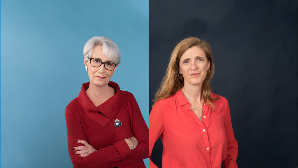 Wendy Sherman (left) and Samantha Power (right) have been chosen by President-elect Joe Biden to fill senior government positions. (Image from Harvard Kennedy School)