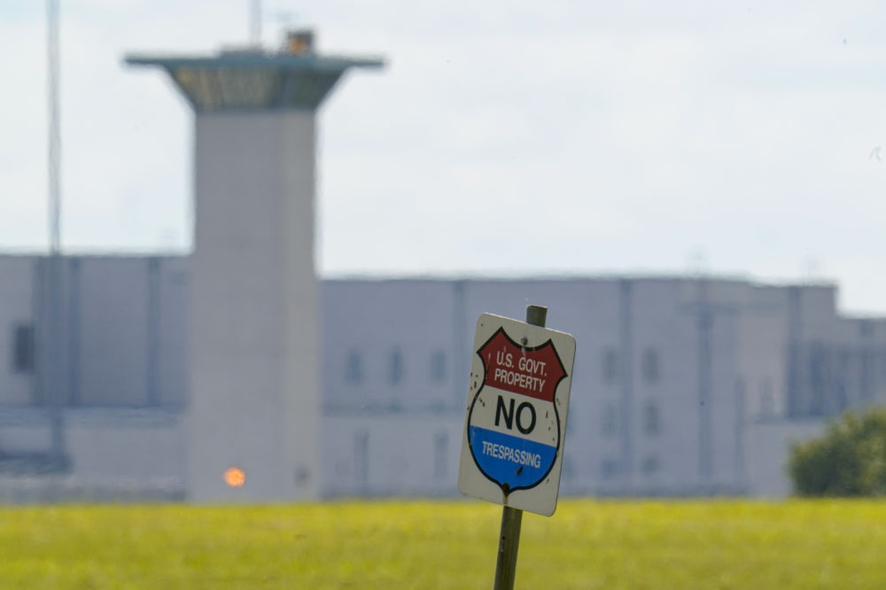 The federal prison complex in Terre Haute, Ind. All federal prisons in the United States have been placed on lockdown, with officials aiming to quell any potential violence that could arise behind bars as law enforcement prepares for potentially violent protests across the country in the run-up to President-elect Joe Biden's inauguration on Wednesday. (Michael Conroy/AP)