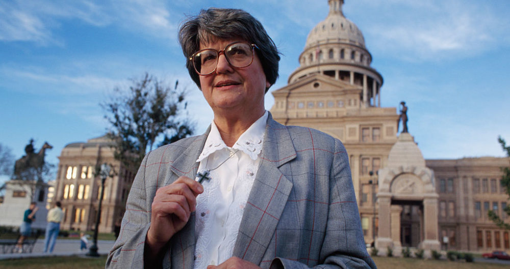 Sister Helen Prejean, a leading American advocate for the abolition of the death penalty. (Andrew Lichtenstein/Sygma via Getty Images)