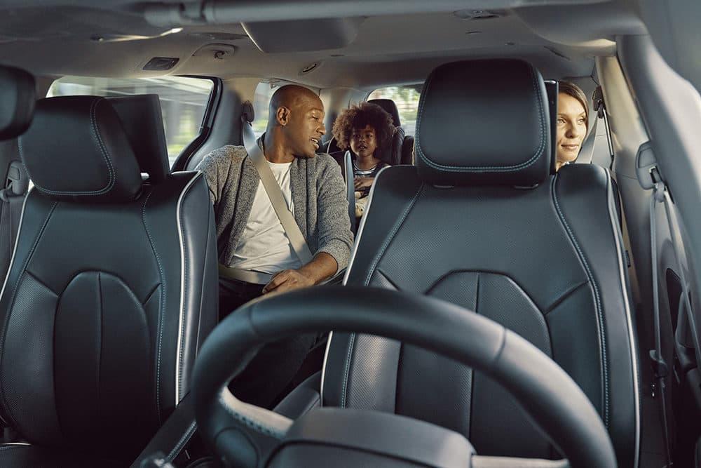 Waymo's autonomously driven Chrysler Pacifica minivan. (Courtesy)