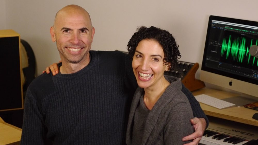The makers of Circle Round, Eric Shimelonis and Rebecca Sheir (Courtesy Sheir and Shim LLC).