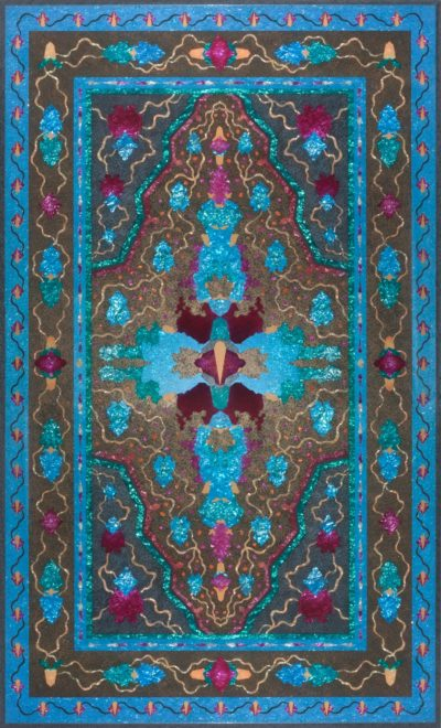 "Michelle Samour, ""Borders and Boundaries: Jerusalem,"" 2017. (Courtesy Fuller Craft Museum)"
