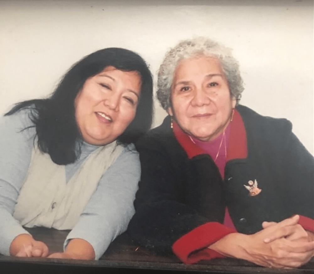 "Leticia ""Nina"" Gloria and her mother, Jovita Rodriguez. (Courtesy)"