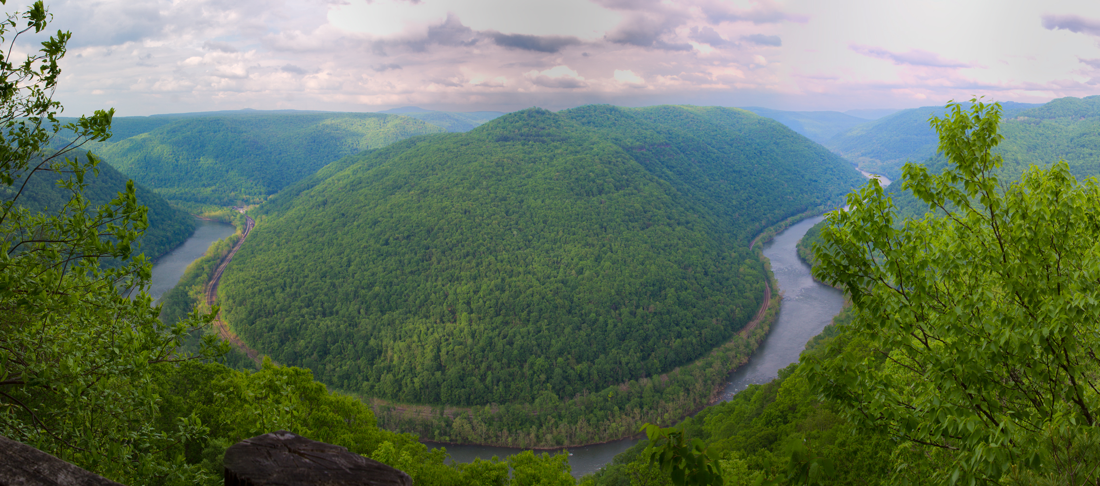 View from the North Overlook at the Grandview area of New River Gorge. (Courtesy)