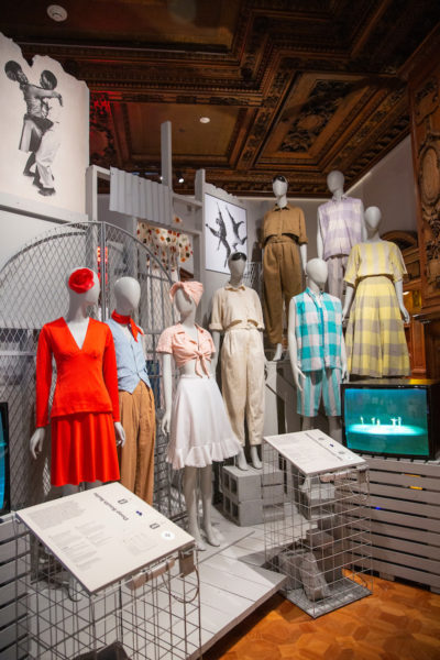 """Installation view of """"Willi Smith: Street Couture."""" (Ann Sunwoo © Smithsonian Institution)"""