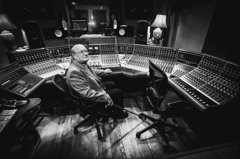 Legendary audio equipment inventor Rupert Neve. (Joshua Thomas)