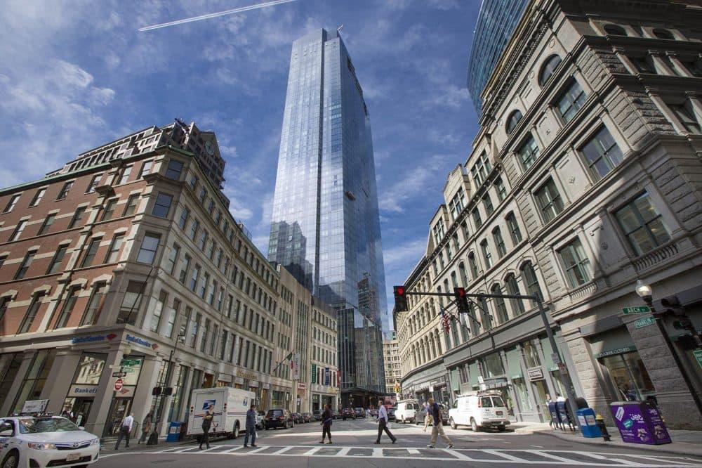 Downtown Boston. (Jesse Costa/WBUR)