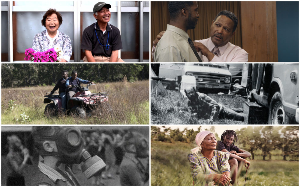 Stills from six documentaries streaming at this year's Salem Film Fest. (Courtesy Salem Film Fest)