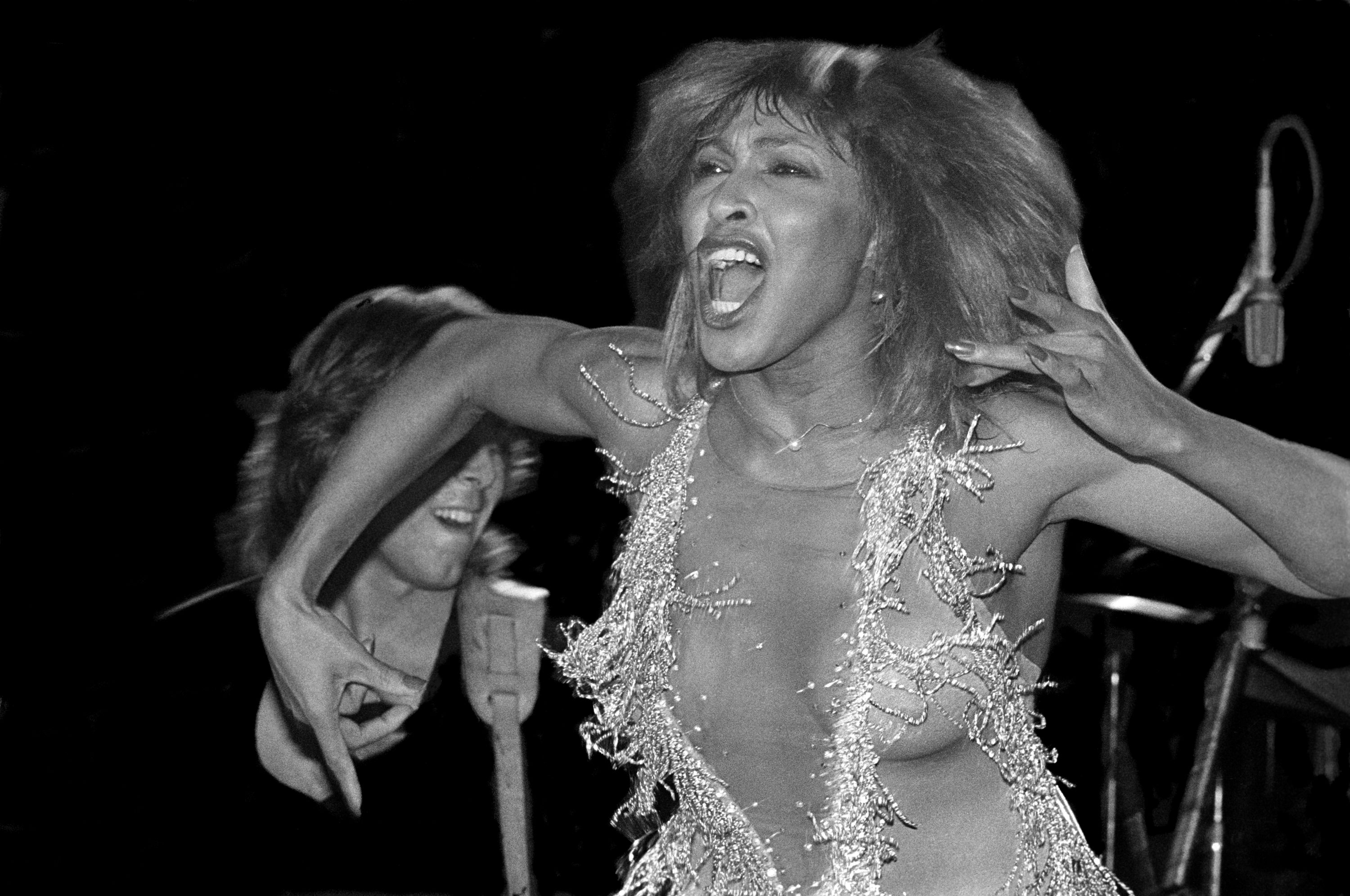 Tina Turner, photographed by Susan Wilson. (Courtesy)