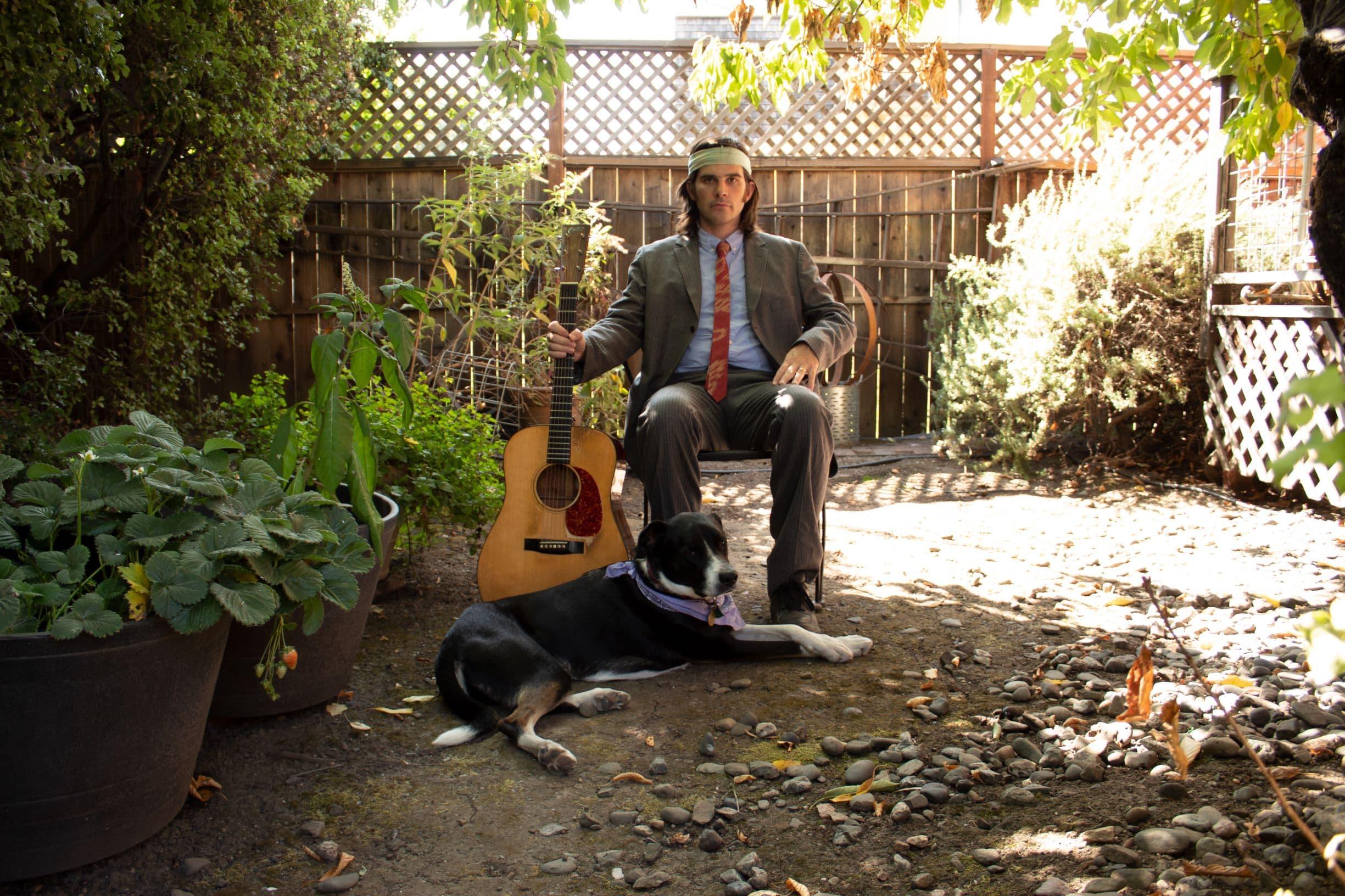 Singer and guitarist Stash Wyslouch. (Courtesy Mariel Vandersteel)