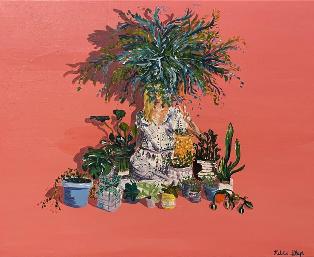"""(""""Plant Life"""" by Nelda Glaze)"""