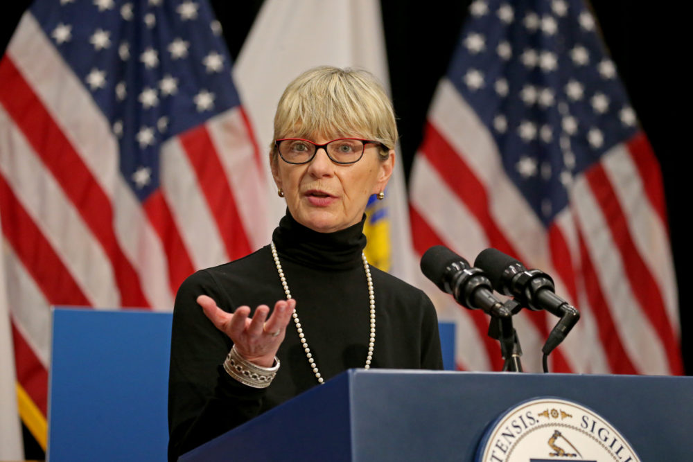 Secretary of Health and Human Services for the Commonwealth of Massachusetts Marylou Sudders (Stuart Cahill/MediaNews Group/Boston Herald via Getty Images)