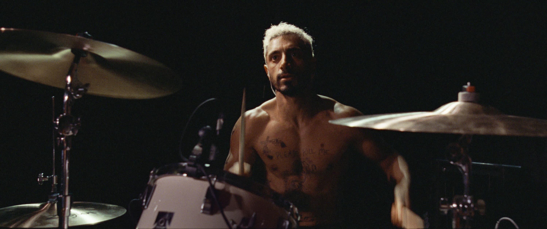 "Riz Ahmed as Ruben in ""Sound of Metal."" (Courtesy Amazon Studios)"