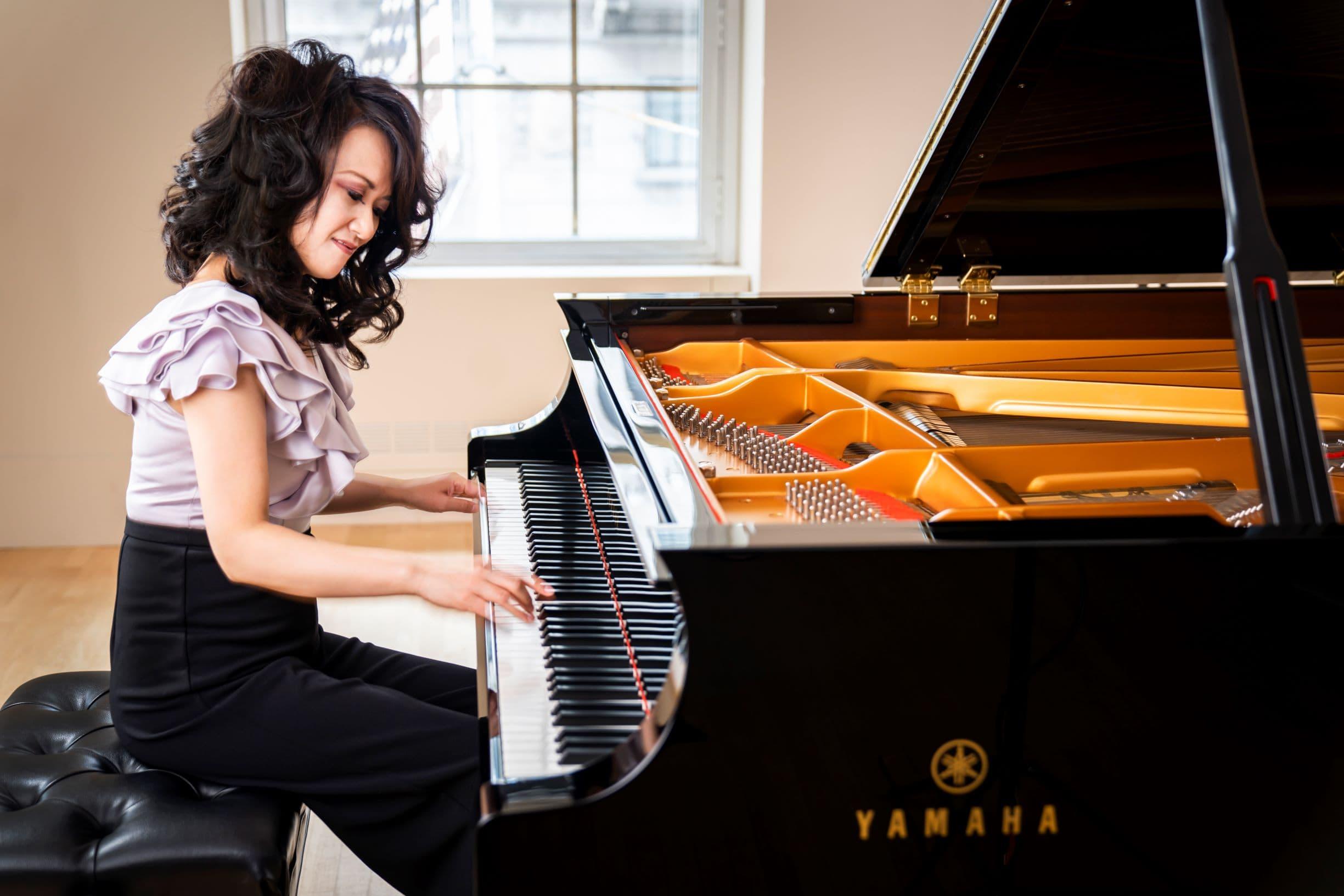 Pianist-composer Yoko Miwa. (Courtesy Chris Lee)