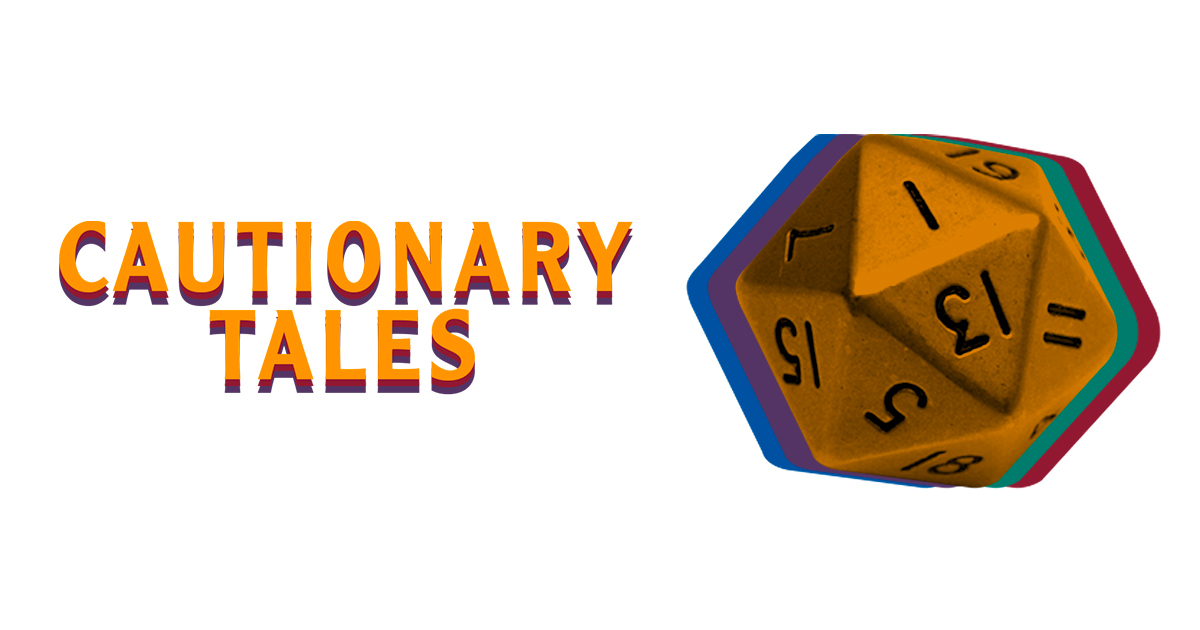 Endless Thread Presents: Cautionary Tales