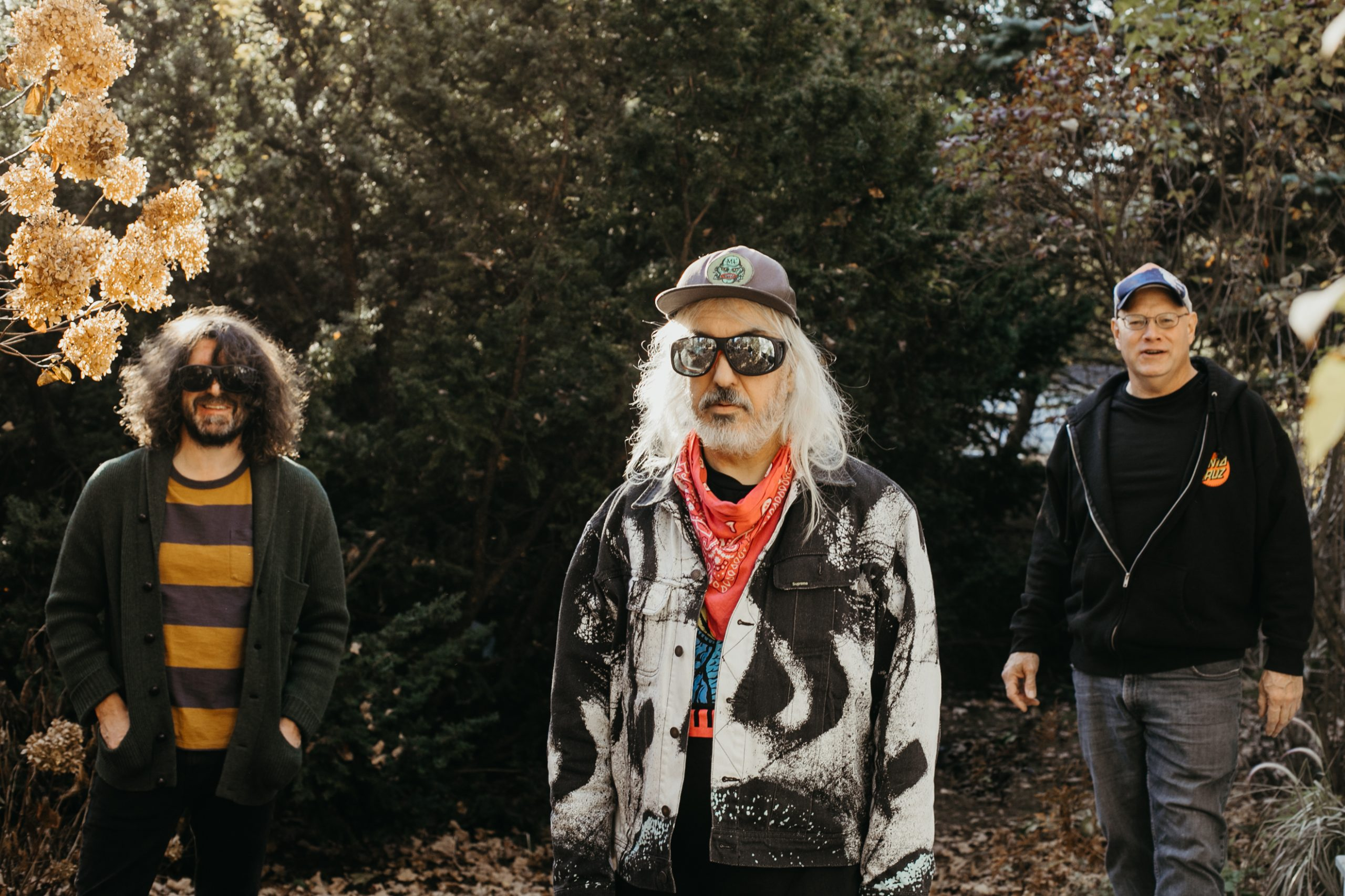 Left to right, Lou Barlow, J Mascis and Murph of Dinosaur Jr. (Courtesy Cara Totman)