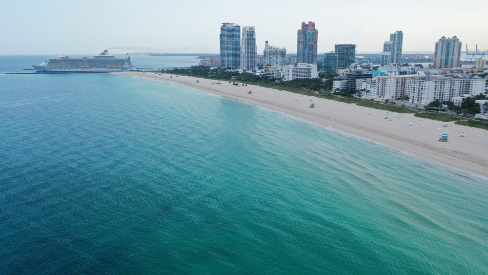 Miami Beach. (Cliff Hawkins/Getty Images)