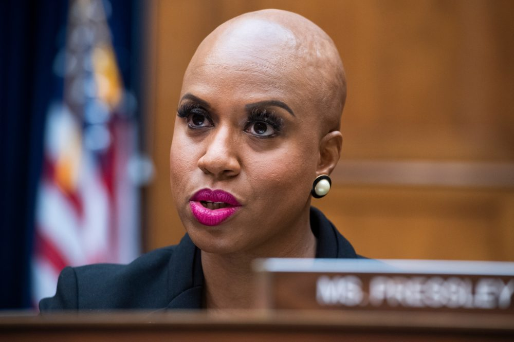 Rep. Ayanna Pressley (Tom Williams-Pool/Getty Images)
