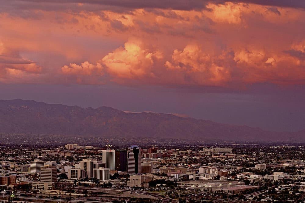 Sunset over Tucson, Arizona. (Wild Horizons/Universal Images Group/Getty Images)