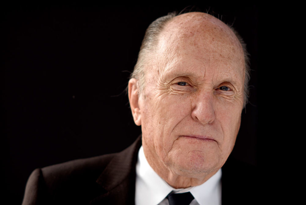 Actor Robert Duvall poses for a portrait during the 87th Academy Awards Nominee Luncheon in 2015 in Los Angeles, Calif. (Jeff Vespa/Getty Images)
