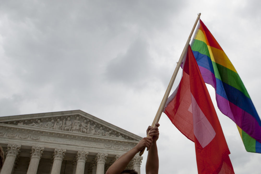 The Supreme Court ruled that same-sex couples can marry nationwide in 2015. (Michael Rowley/Ghetty)