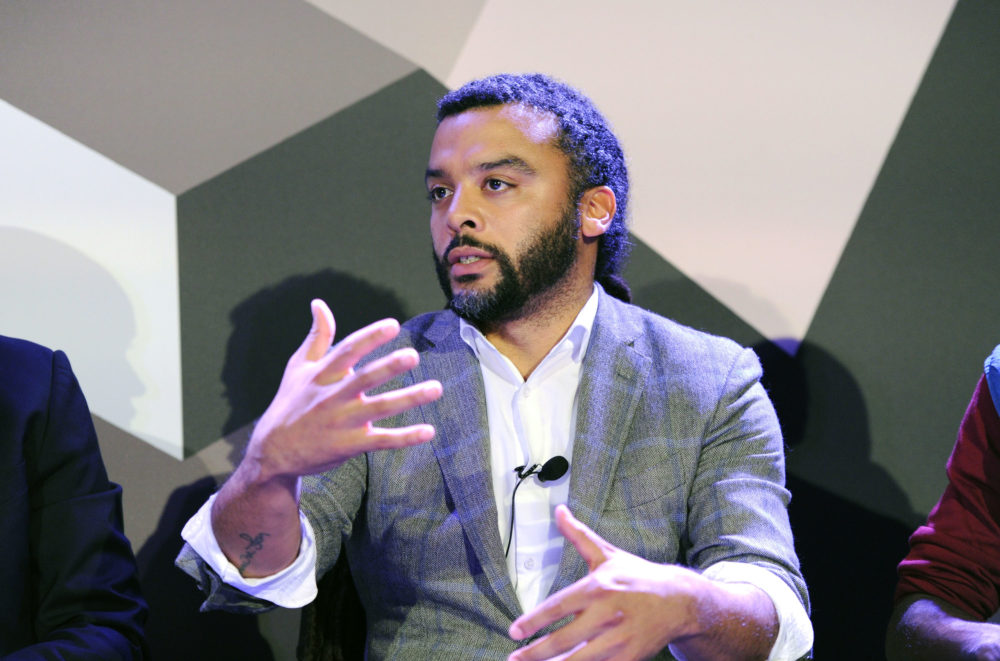 Adam Foss, pictured at the Fast Company Innovation Festival in 2016 in New York City, has become a criminal justice reform advocate. (Craig Barritt/Getty Images for Fast Company)