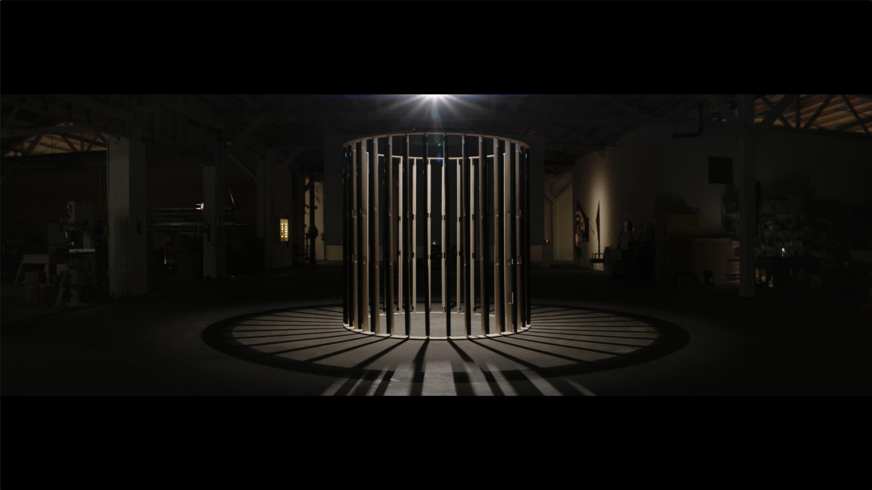 """Glenn Kaino's sculpture """"Revolutions."""" (Courtesy MASS MoCA)"""