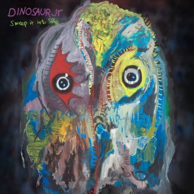"""De cover van het nieuwe album van Dinosaur Jr. """"Sweep It Into Space.""""  (Hoffelijkheid)"""