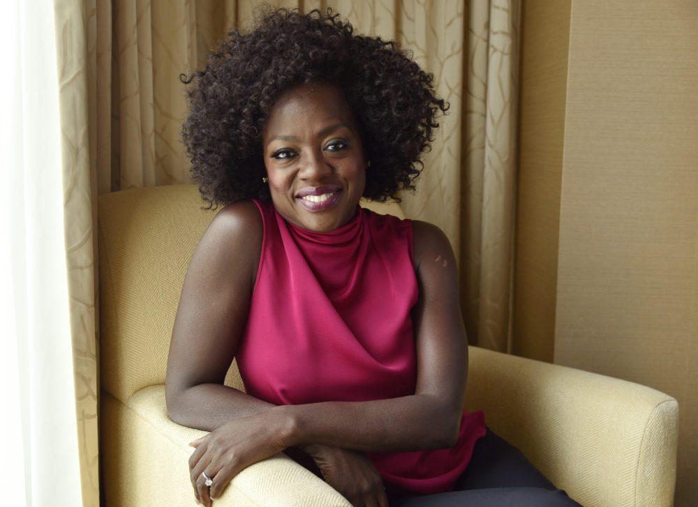 Viola Davis poses for a portrait at the Ritz-Carlton Hotel during the Toronto International Film Festival in Toronto on Sept. 9, 2018. (Chris Pizzello/Invision/AP)